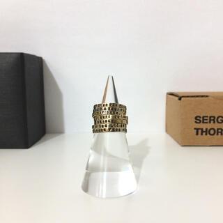 アッシュペーフランス(H.P.FRANCE)のSERGE THORAVAL 7連リング セルジュトラヴァル 接吻 ゴールド(リング(指輪))