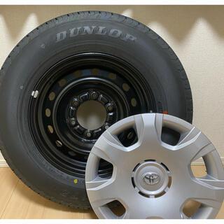 ダンロップ(DUNLOP)のトヨタ ハイエース 純正タイヤ4本(タイヤ・ホイールセット)