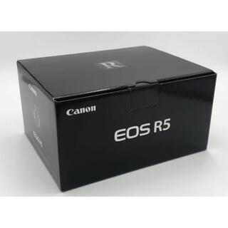 Canon - 新品未開封キヤノン CANON ミラーレス一眼 EOS R5ボディ