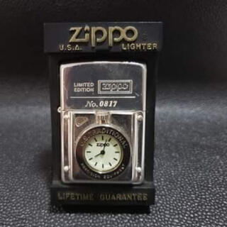 ZIPPO - ZIPPO ジッポー時計付き