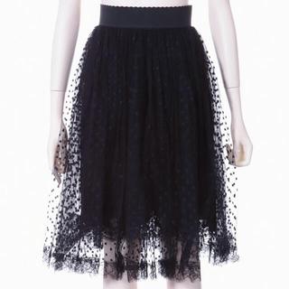 ドルチェアンドガッバーナ(DOLCE&GABBANA)の新品タグ付【Dolce&Gabbana】2020年レーススカート(ひざ丈スカート)