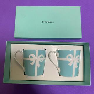 ティファニー(Tiffany & Co.)のティファニーのブルーリボンペアマグカップ(マグカップ)