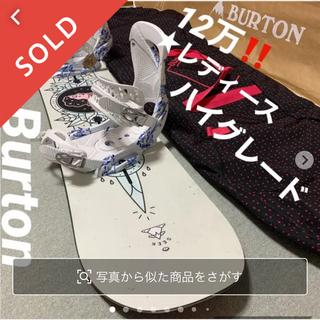バートン(BURTON)の12万❗️レディース③点セット★ハイグレード☆Burton 新品(ボード)