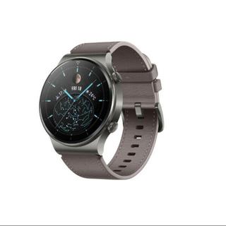 ファーウェイ(HUAWEI)のHuawei WATCH GT 2 Pro Nebula Gray(腕時計(デジタル))