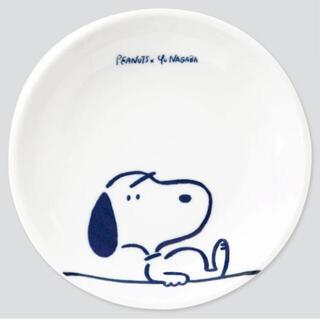 ユニクロ(UNIQLO)のピーナッツ × 長場雄 豆皿 マメザラ(12cm) チャーム3点セット(食器)