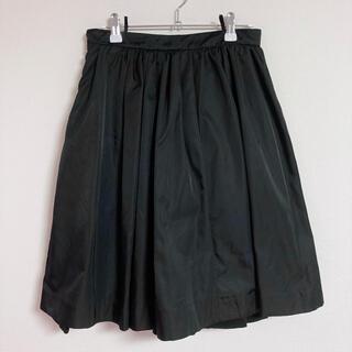 PRADA - プラダ PRADA スカート 黒 ブラック