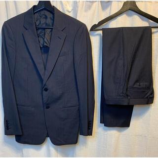 アルマーニ コレツィオーニ(ARMANI COLLEZIONI)のアルマーニ ARMANI スーツ セットアップ ストライプ ブラック イタリア産(セットアップ)
