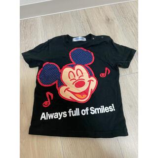 ディズニー Tシャツ 黒 サイズ90
