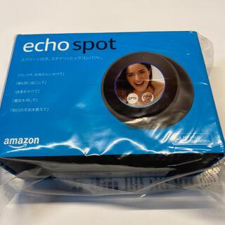 エコー(ECHO)のアレクサ 新品 echo spot  amzon エコー(スピーカー)