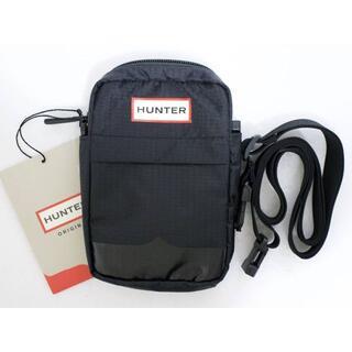 ハンター(HUNTER)の定価4400 新品 本物 HUNTER 黒 ブラック ベルトバッグ 2013(ボディバッグ/ウエストポーチ)