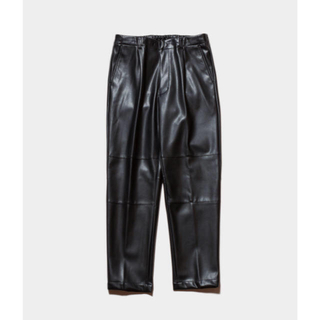 stein 19aw fake leather trousersサイズS