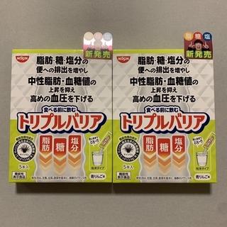 ニッシンショクヒン(日清食品)のNISSIN 日清食品トリプルバリア 青りんご味5本入り×2個箱賞味期(その他)
