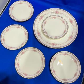 ノリタケ(Noritake)のノリタケ SWEET FAIRY スウィートフェアリー プレート 大 小 6枚(食器)