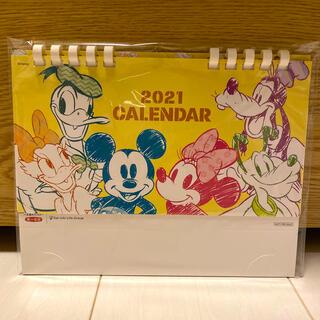 ディズニー(Disney)のディズニー 卓上カレンダー 2021年(カレンダー/スケジュール)