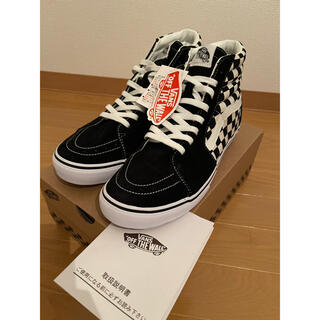 VANS - 【新品】廃盤 VANS SK8-HI DX V38CL CHECKERBOARD