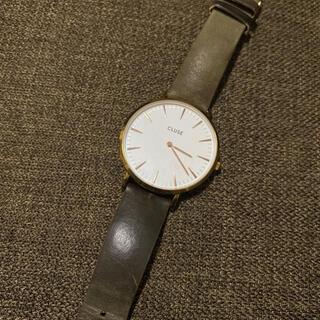 ダニエルウェリントン(Daniel Wellington)のCLUSE 腕時計 カーキ(腕時計)