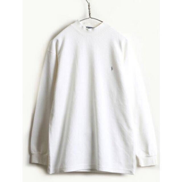 POLO RALPH LAUREN(ポロラルフローレン)のポロラルフローレン長袖 白 中古 メンズのトップス(ポロシャツ)の商品写真
