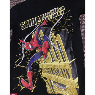 マーベル(MARVEL)のスパイダーマン ユニバーサルスタジオ Tシャツ Sサイズ 良品(Tシャツ/カットソー(半袖/袖なし))