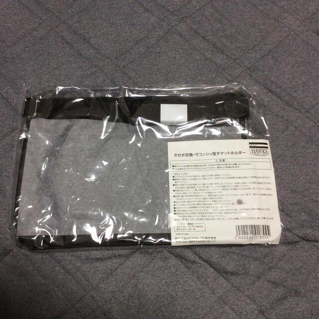 ソフトバンクホークス  サコッシュ型チケットホルダー スポーツ/アウトドアの野球(応援グッズ)の商品写真