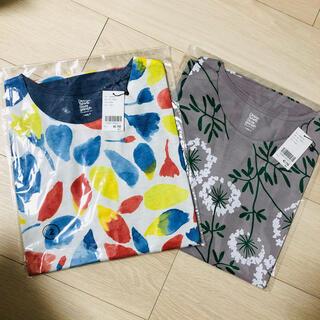 Design Tshirts Store graniph - 新品未使用◆グラニフ 花柄カットソー Tシャツ 2枚セット