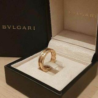 ブルガリ(BVLGARI)の正規品 BVLGARI リング ビーゼロワン ブルガリ 指輪  18k PG(リング(指輪))