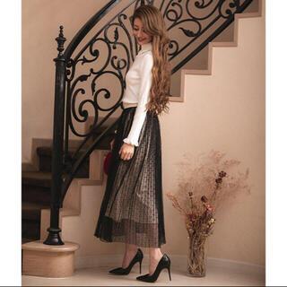 エミリアウィズ(EmiriaWiz)のエミリアウィズ  EmiriaWiz ドットチュールスカート (ロングスカート)
