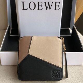 LOEWE - LOEWE パズル ジップ 二つ折り財布
