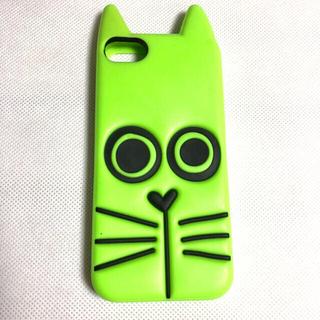 マークバイマークジェイコブス(MARC BY MARC JACOBS)のマークバイマークジェイコブス アイフォン5 iPhone5 スマホケース 猫(iPhoneケース)