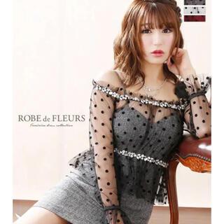 ローブ(ROBE)のROBE de FLEURS(ナイトドレス)