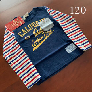⭐️未使用品 ニードルワーク オフィシャルチーム 長袖Tシャツ 120サイズ