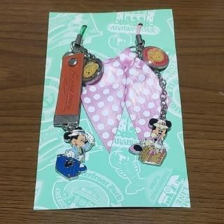 ディズニー(Disney)のディズニーリゾート ストラップ ミッキー ミニー 未使用 長期自宅保管品(ストラップ)