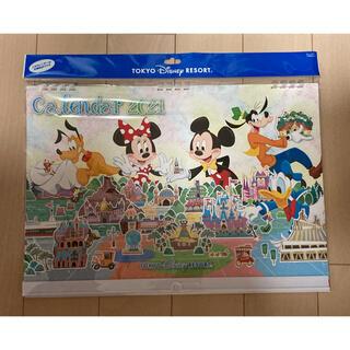 ディズニー(Disney)の【新品・未使用品】東京ディズニーリゾート カレンダー 2021(カレンダー/スケジュール)