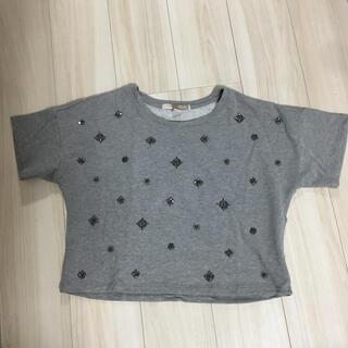 FOREVER 21 - フォエバー21 ビジュー  スエット Tシャツ