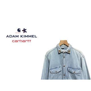 アダムキメル(Adam Kimmel)のADAM KIMMEL × Carhartt チェック ライニング デニムシャツ(シャツ)