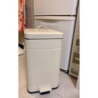 IKEA - 缶 脚ペダル式 蓋付きダストボックス ゴミ箱