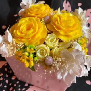 ソープカービング 黄色 薔薇(その他)
