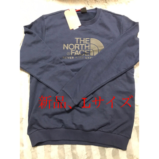 THE NORTH FACE - 新品 未使用 THE NORTH FACE トレーナー メンズL  紺色