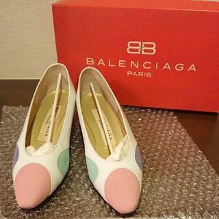 Balenciaga - BALENCIAGA バレンシアガ パンプス ドットパンプス レディース