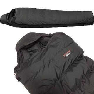 ナンガ(NANGA)のオーロラ750DX ロング ブラック日本製シュラフ(NANGA/ナンガ)(寝袋/寝具)