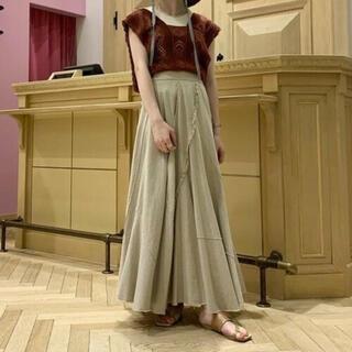 レイビームス(Ray BEAMS)の新品 レイビームス パッチワークフレアロングスカート (ロングスカート)