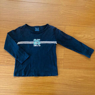 コムサイズム(COMME CA ISM)のCOMME CA ISM 90  ライン ロングTシャツ(Tシャツ/カットソー)