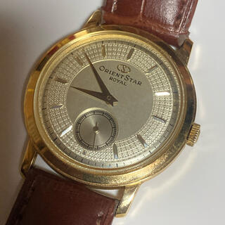 オリエント(ORIENT)のオリエントスター ロイヤル 金無垢 腕時計 18K (腕時計(アナログ))
