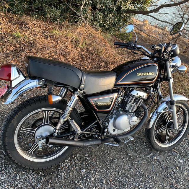 スズキ(スズキ)のスズキ GN125 自動車/バイクのバイク(車体)の商品写真