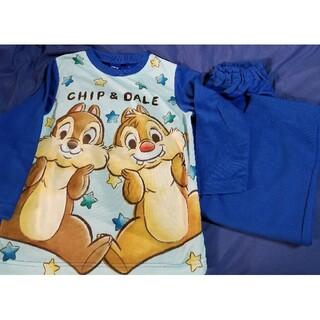 ディズニー(Disney)のチップとデール 120cm 長袖パジャマ上下セット ディズニー 新品未使用品(パジャマ)
