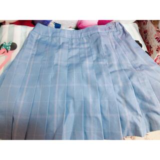 ウィゴー(WEGO)の水色、プリーツスカート(ミニスカート)
