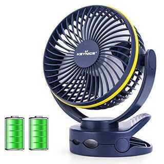 03ネイビー【2020年最新改良版】 KEYNICE usb扇風機 卓上扇風機