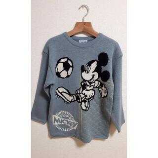 ディズニー(Disney)のミッキーニット メンズサイズ M(ニット/セーター)