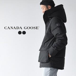 カナダグース CANADAGOOSE ウェッジマウントパーカー ブラックラベル
