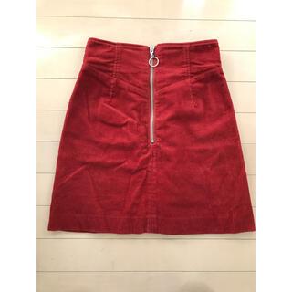 スパイラルガール(SPIRAL GIRL)の新品♡ スパイラルガール コーデュロイスカート(ミニスカート)