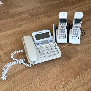パイオニア(Pioneer)のパイオニア 固定電話機 親機+子機2台(その他)